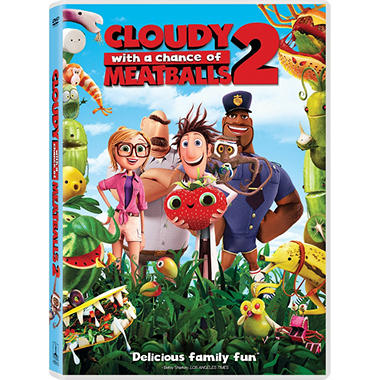 Cloudy With A Chance Of Meatballs 2: (DVD/UltraViolet)