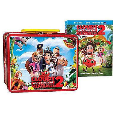 Cloudy With A Chance Of Meatballs 2 (2 Discs) with Lunch Box: (Blu-ray/DVD)