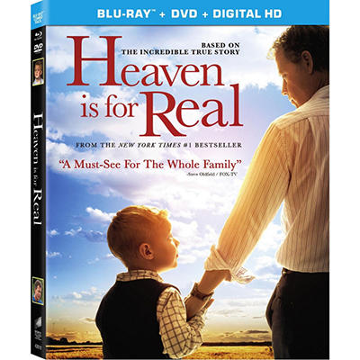 Heaven is For Real - DVD + UltraViolet (Widescreen)