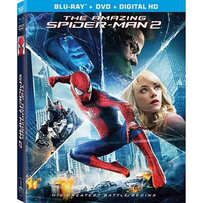 The Amazing Spider-Man 2 - Blu-Ray + DVD + UltraViolet (Widescreen)