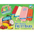 Chunks O' Fruiti 100% Natural Frozen Fruit Bars,  16 - 3 oz. Bars