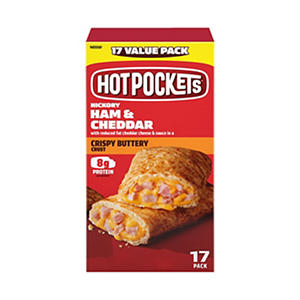 Hot Pockets Ham & Cheese Stuffed Sandwiches (4.5 oz., 17 pk.)