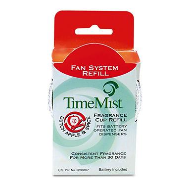 TimeMist Fan Fragrance Refill Apple & Spice