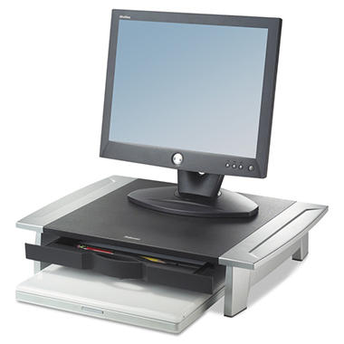 "Fellowes 2"" Height Adjustable Monitor Riser"