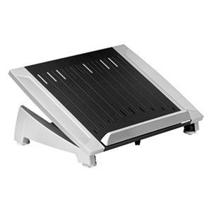 Fellowes - Office Suites Laptop Riser Plus, 15 1/8 x 11 3/8 x 6 1/2 -  Black/Silver