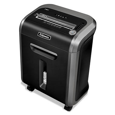 Fellowes - Powershred 79Ci 100% Jam Proof Medium-Duty Cross-Cut Shredder -  16 Sheet Capacity