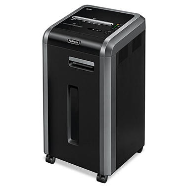 Fellowes Powershred 225Ci Continuous-Duty Cross-Cut Shredder - 20 Sheet Capacity