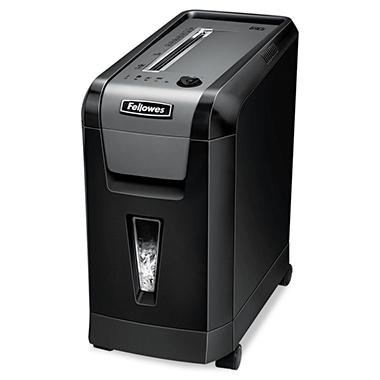 Fellowes Powershred 69-Cb Desk Side Cross-Cut Shredder - 10 Sheet Capacity