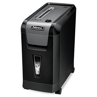 Fellowes Powershred 69Cb Desk side Cross-Cut Shredder - 10 Sheet Capacity