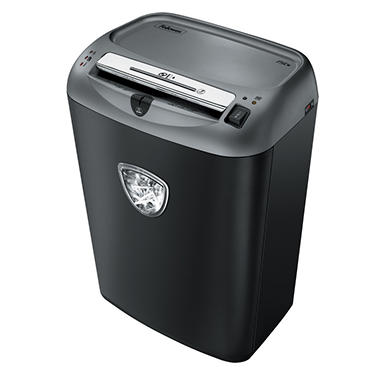Fellowes Powershred 75Cs Medium-Duty Cross-Cut Shredder - 12 Sheet Capacity