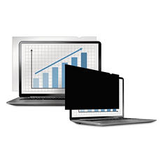"Fellowes - PrivaScreen Blackout Privacy Filter, 15.6"" Widescreen LCD -  16:9"