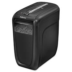 Fellowes Powershred 60Cs Light-Duty Cross-Cut Shredder, Black