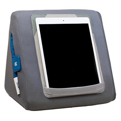 Domeo Tri-Lounge Lap Desk for iPad - Grey