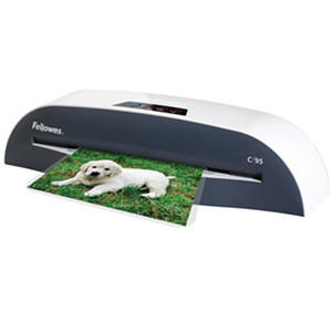 Fellowes C-95 Laminator With Pouch Starter Kit
