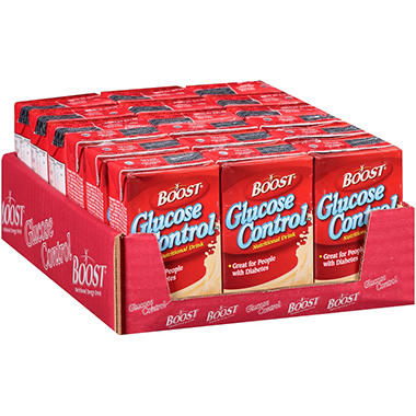 Boost Glucose Control Vanilla Nutritional Drink - 8 fl. oz. - 18 ct.