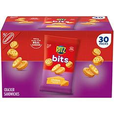 Nabisco Ritz Bits Cheese Cracker Sandwiches - 1.5 oz. - 30 pk.