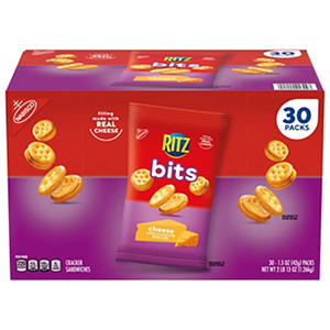 Nabisco Ritz Bits Cheese Cracker Sandwiches - 1.5 oz. - 30 pk.
