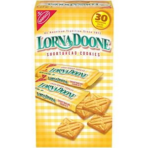 Nabisco Lorna Doone Shortbread Cookies - 30 ct.