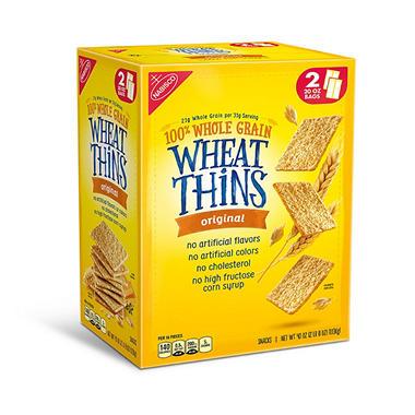 Nabisco Wheat Thins Original Crackers - 20 oz. - 2 ct.