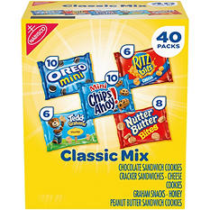 Nabisco Classic Mix Variety Pack (40 ct.)