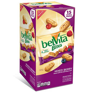 Nabisco BelVita Bites Mixed Berry (1.76 oz. pack, 15 ct.)