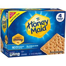 Nabisco Honey Maid Honey Graham Crackers (14.4 oz., 4 pk.)