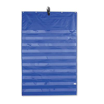 Original 10-Row Pocket Chart, 34 x52, BE