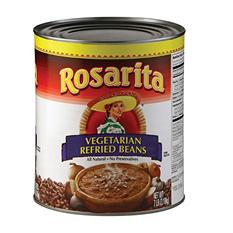 Rosarita Vegetarian Refried Beans - 7lb