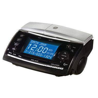 GE® Clock / Radio Cordless Phone