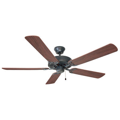 """Millbridge by Design House 52"""" Oil Rubbed Bronze 5 Blade Ceiling Fan"""