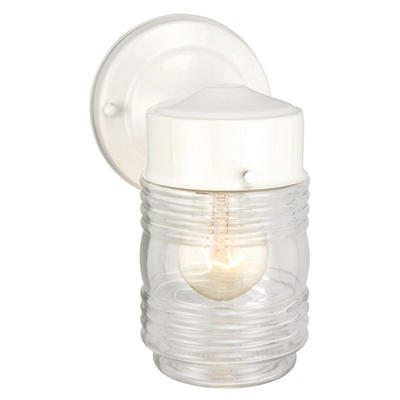 Jelly Jar by Design House White Outdoor Downlight
