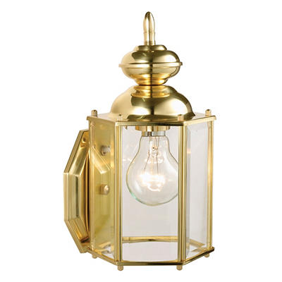 Augusta by Design House Solid Brass Outdoor Downlight