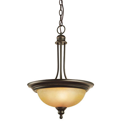 Bristol by Design House Oil Rubbed Bronze Pendant