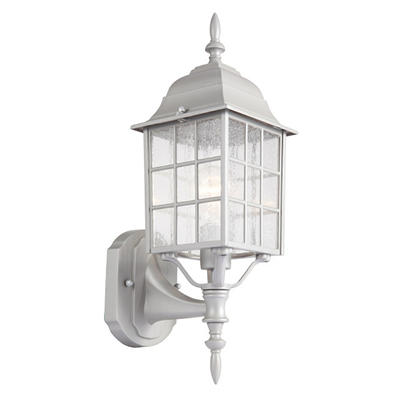 Earl Grey by Design House Sanded Aluminum Outdoor Uplight