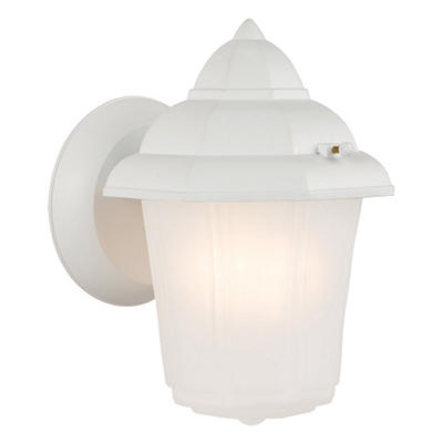 Maple Street by Design House White Outdoor Downlight
