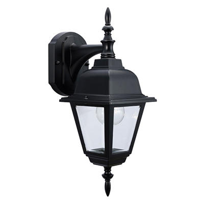 Maple Street by Design House Black Outdoor Downlight