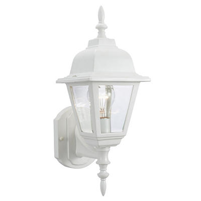 Maple Street by Design House White Outdoor Uplight