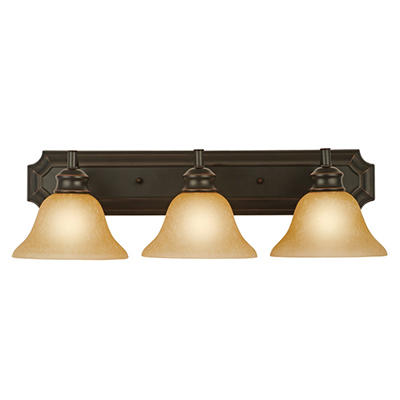Design House 3-Light Vanity Light Bristol Collection Oil Rubbed Bronze