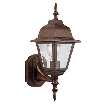 Maple Street by Design House Washed Copper Outdoor Uplight
