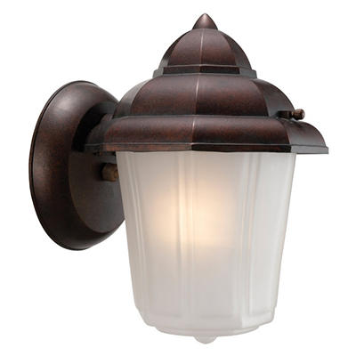 Maple Street by Design House Washed Copper Outdoor Downlight