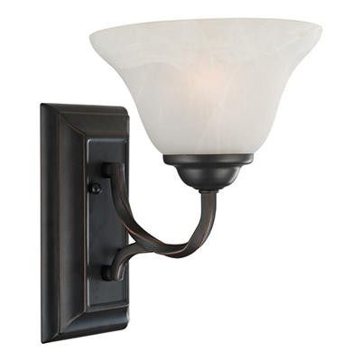 Drake by Design House Oil Rubbed Bronze Wall Light