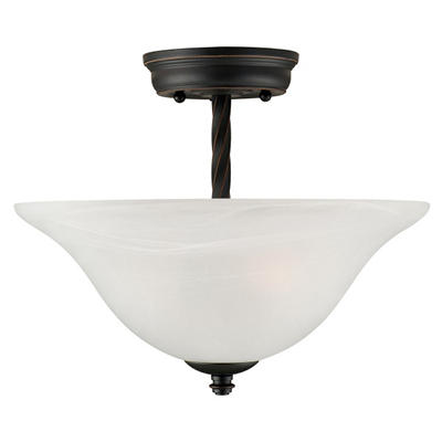 Drake by Design House Oil Rubbed Bronze Ceiling Mount