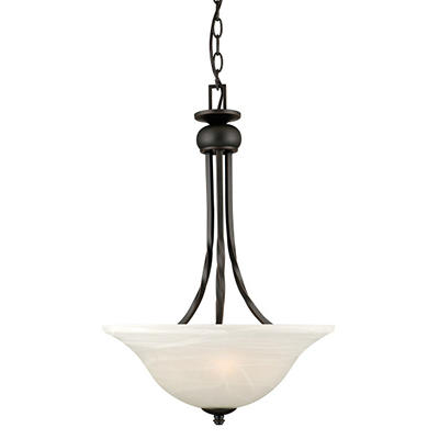 Drake by Design House Oil Rubbed Bronze Pendant