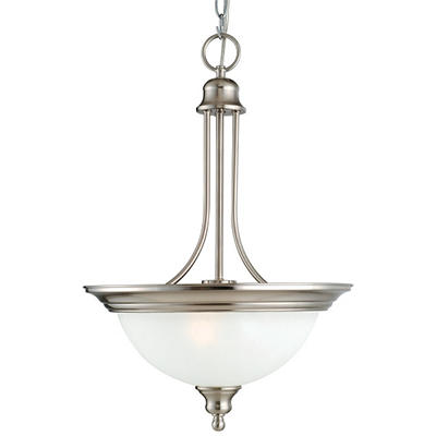 Bristol by Design House Satin Nickel Pendant