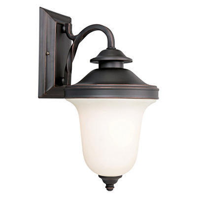 Drake by Design House Oil Rubbed Bronze Outdoor Downlight