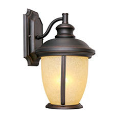 Bristol by Design House Oil Rubbed Bronze Outdoor Downlight