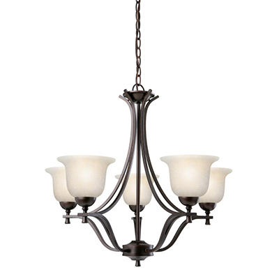 Ironwood by Design House Brushed Bronze Chandelier