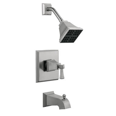 Torino by Design House Satin Nickel Tub & Shower Faucet