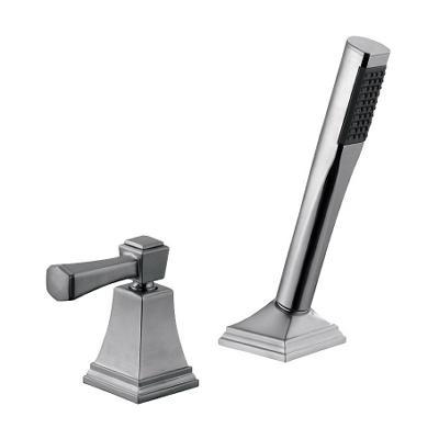 Torino by Design House Satin Nickel Roman Tub Faucet