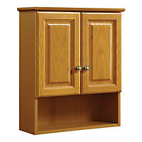 Design House Claremont Honey Oak Wall Cabinet